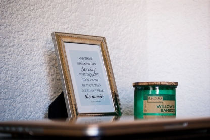 Frame and Candle
